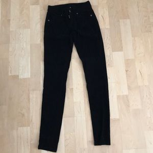 LF Carmar Skinny Black Corduroy Jeans